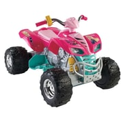 Fisher-Price® Power Wheels® Barbie Kawasaki KFX All-Terrain Vehicle, Pink, 3 - 7 Years (X6651)