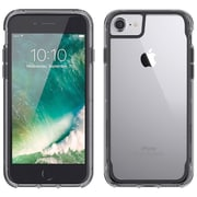 Griffin GB42310 TPU/Polycarbonate Survivor Clear Case for iPhone 7, Smoke