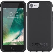 Griffin GB42765 TPU/Polycarbonate Survivor Journey Case for iPhone 7, Black/Dark Gray