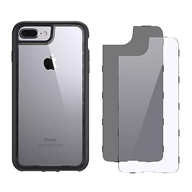 Griffin GB42900 TPU/Polycarbonate Survivor Adventure Case for iPhone 7 Plus, Smoke/Gray