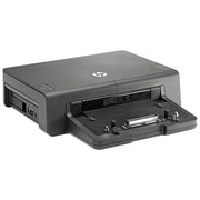 HP® USB 2.0/USB 3.0 Advanced Docking Station for EliteBook Notebooks, Black (A7E38AA)