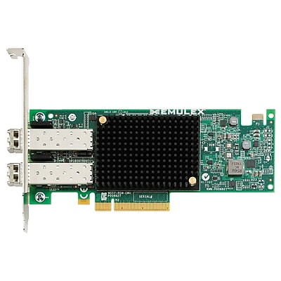 lenovo® Emulex ThinkServer OCe14102-NX PCIe 3.0 10 Gbps Dual Port Ethernet Adapter (4XC0F28724)