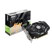 msi NVIDIA GeForce GTX 1050 Ti 4G OC GDDR5 PCI Express x16 3.0 4GB Graphic Card