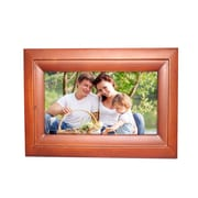 "MYEPADS 5.86"" x 8.26"" x 1.18"" Wooden Cable/Wireless Internet Digital Photo Frame (10 -WIFI-FRAME)"