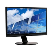 "Philips Monitor 22"" Class IPS Panel Full HD 1920x1080 VGA DVI-D DisplayPort Built-in 2Wx2 Speakers USB 2.0x4 221B6QPYEB"
