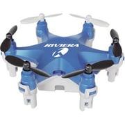 Riviera Headless Mode RC Micro Hexacopter Drone, Blue (RIV-805B)