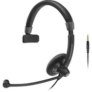 Sennheiser Culture Plus SC 45 Over-the-Head Mono Headset, Black