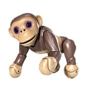 Spin Master™ Zoomer Interactive Chimp Toy with Voice Command, Movement and Sensors, Brown (6027473)