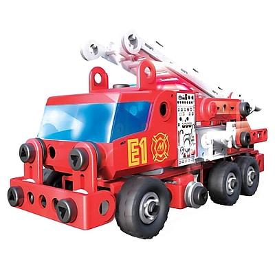 Spin Master™ Meccano Junior Rescue Fire Toy Truck, Red (6028420)