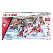 Spin Master™ Meccano 20 Model Aerial Rescue Toy Set (6028598)