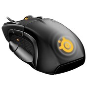 SteelSeries Optical Wired Scroll Wheel Gaming Mouse, Black (Rival 500)