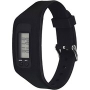 Voxx Myguard Fitness Tracker, Black, 12/Pack (MGFIT1TBK12)