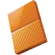 WD® My Passport WDBYFT0030BOR-WESN 3TB USB 3.0 External Hard Drive, Orange