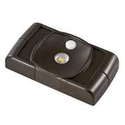 Acclaim Lighting Battery Operated LED Under Cabinet Puck Light; Bronze