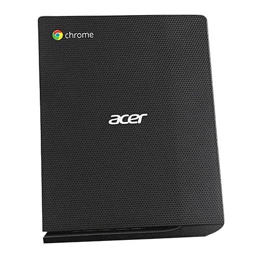 Acer CXV2 Chromebox, Intel Core i7 (5th Gen) i7-5500U 2.40 GHz, 4 GB DDR3L SDRAM, 16 GB Flash Memory Capacity, Chrome OS
