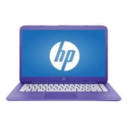 "HP® Stream X7S45UA 14"" Laptop, LCD, Celeron N3060 1.6 GHz, 32GB, 4GB, Win 10 Home, Violet Purple"