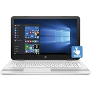 "HP® Pavilion X0S48UA 15.6"" Notebook, Touch LCD, Core i5-6200U 2.3 GHz, 1TB, 6GB, Win 10 Home, Blizzard White/Ash Silver"