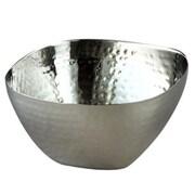 Heim Concept Elegance Stainless Steel Hammered Square Serving Bowl