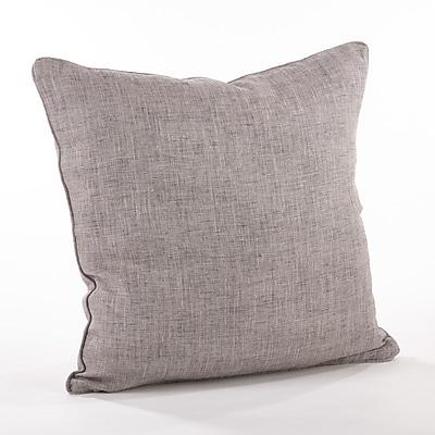 Saro Nabru Linen Throw Pillow
