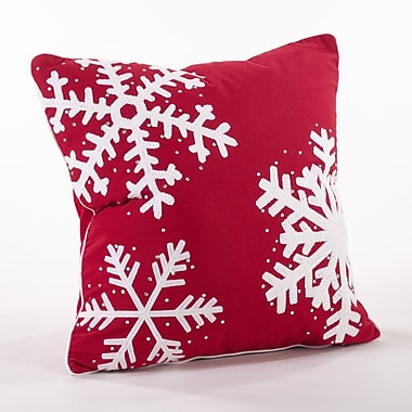 Saro Nevar Cotton Throw Pillow
