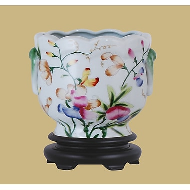 East Enterprises Inc Porcelain Urn Planter