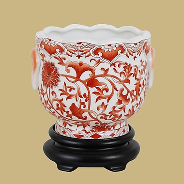 East Enterprises Inc Porcelain Urn Planter
