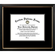 Campus Images Petite Mats Picture Frame; Black