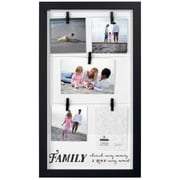 Malden Family Clothespin Panel Picture Frame