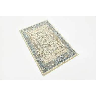 Charlton Home Shaws Beige Area Rug; 2' x 3'