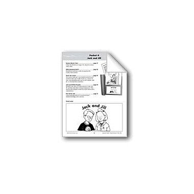 Evan-Moor Educational Publishers Literature Pocket/Nursery Rhymes: Jack And Jill Workbook, Kindergarten - Grade 1 [eBook]
