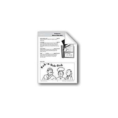 Evan-Moor Educational Publishers Literature Pocket/Nursery Rhyme: Rub-A-Dub-Dub Workbook, Kindergarten - Grade 1 [eBook]
