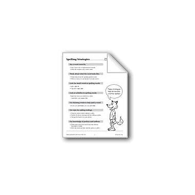 Evan-Moor Educational Publishers Spelling: Grade 5 And 6 Spelling Strategies/How To Study Workbook, Grade 5 - Grade 6 [eBook]