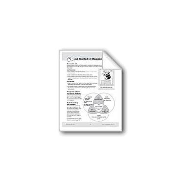 Evan-Moor Educational Publishers Job Wanted: A Magician Workbook, Grade 3 - Grade 4 [eBook]
