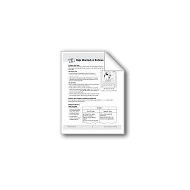 Evan-Moor Educational Publishers Help Wanted: A Referee Workbook, Grade 5 - Grade 6 [eBook]