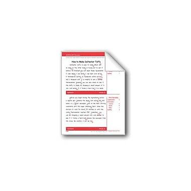 Evan-Moor Educational Publishers How To Make Saltwater Taffy (Gr. 5/Week 31) Workbook, Grade 5 [eBook]