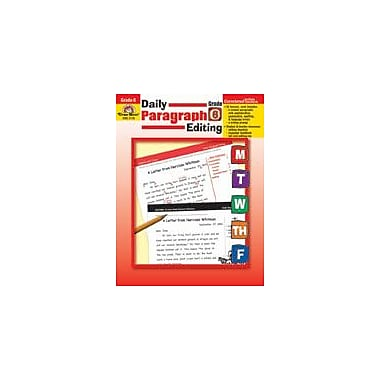Evan-Moor Educational Publishers Daily Paragraph Editing: Grade 6 Workbook [Enhanced eBook]
