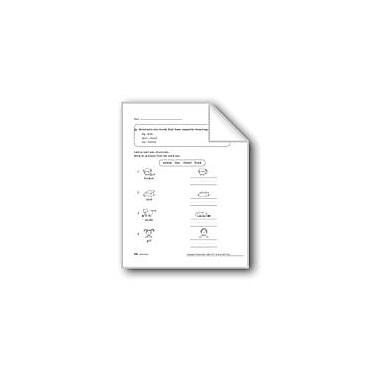 Evan-Moor Educational Publishers Antonyms Workbook, Grade 1 [eBook]