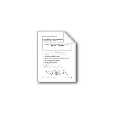 Evan-Moor Educational Publishers Proper Adjectives Workbook, Grade 2 [eBook]