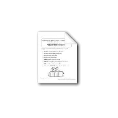 Evan-Moor Educational Publishers Noun-Pronoun Agreement Workbook, Grade 2 [eBook]