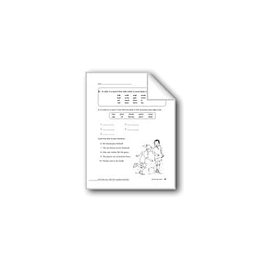 Evan-Moor Educational Publishers Identifying Verbs Workbook, Grade 2 [eBook]