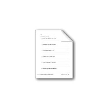 Evan-Moor Educational Publishers Editing: Nouns Workbook, Grade 2 [eBook]