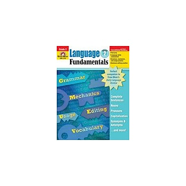 Evan-Moor Educational Publishers Language Fundamentals, Grade 2 Workbook [Enhanced eBook]