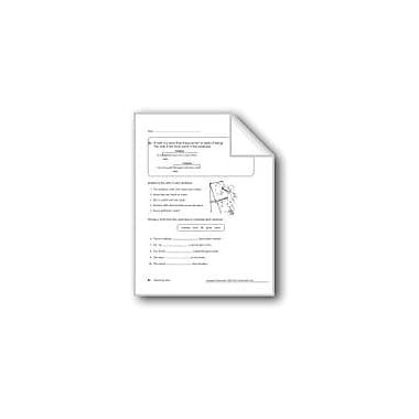 Evan-Moor Educational Publishers Action Verbs Workbook, Grade 4 [eBook]