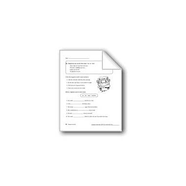 Evan-Moor Educational Publishers Negative Adverbs Workbook, Grade 4 [eBook]