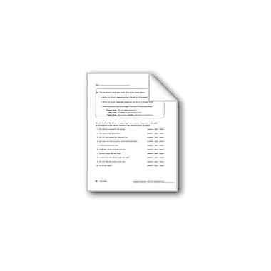 Evan-Moor Educational Publishers Verb Tenses: Present And Past Workbook, Grade 5 [eBook]