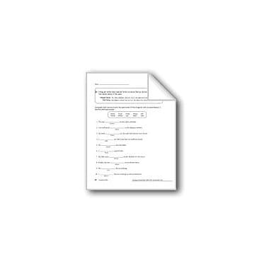 Evan-Moor Educational Publishers Irregular Verbs Workbook, Grade 5 [eBook]