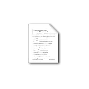 Evan-Moor Educational Publishers Subject-Verb Agreement Workbook, Grade 5 [eBook]