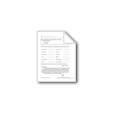 Evan-Moor Educational Publishers Commas In Letter Writing & In Dialogue Workbook, Grade 5 [eBook]