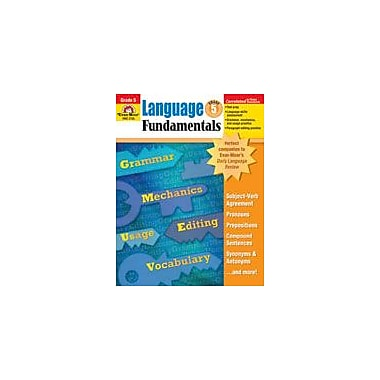 Evan-Moor Educational Publishers Language Fundamentals, Grade 5 Workbook [Enhanced eBook]