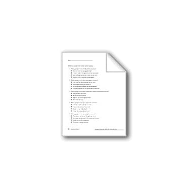 Evan-Moor Educational Publishers Sentence Review, Grade 6 Workbook - Grade 8 [eBook]